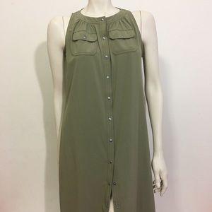 Athlete Green Sleeveless dress size 10